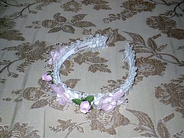 Item 279 pink headpiece